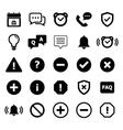 Notification Icon vector image