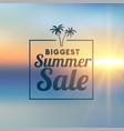 awesome summer sale stylish background vector image vector image