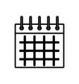 calendar event symbol vector image vector image