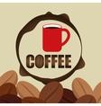 Coffee design breakfast conceptl white vector image vector image