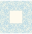 Mosaic square ornamental abstract background vector image