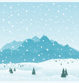 Mountains3 vector image
