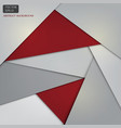 red and gray background web design banner vector image vector image