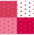 Happy Valentines Day Seamless Pattern Background vector image