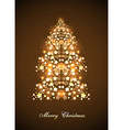 Christmas and New Year theme abstraction vector image