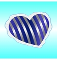 Pillow heart vector image