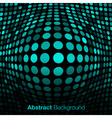 Abstract Blue - Green Technology Background vector image