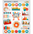 Big set of Shopping infographics elements vector image