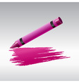 crayon drawing vector image