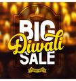 Diwali sale poster vector image vector image