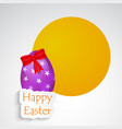 elements of easter background vector image