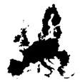 eu map vector image vector image