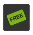 Free card icon vector image