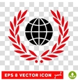 Global Emblem Eps Icon vector image