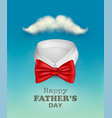 happy fathers day background with a colorful ties vector image vector image