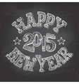 Happy New Year hand-lettering vector image vector image