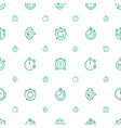 interval icons pattern seamless white background vector image vector image