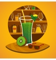 juice bar concept vector image