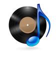 music vinyl 02 vector image vector image