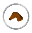 Muzzle horse icon cartoon Singe western icon from vector image vector image