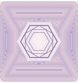 offset sacred geometry vector image