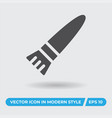 paintbrush icon simple sign for web site and vector image vector image