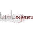 termite deterrents text background word cloud vector image vector image