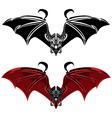 vampire bat vector image vector image