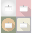 business and finance flat icons 12 vector image