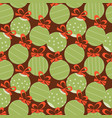 christmas festive seamless pattern decorative vector image vector image