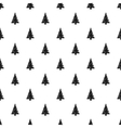 Christmas tree pattern simple style vector image