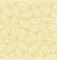 cute seamless summer pattern with variety fruit vector image vector image