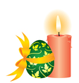 easter still life vector image vector image