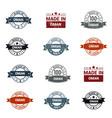 oman stamp design set vector image