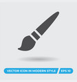 paint brush icon simple sign for web site and vector image vector image