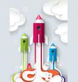successful school start concept vector image vector image