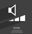 volume sound icon symbol Flat modern web design vector image vector image