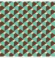 3d retro pattern vector image vector image