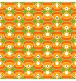 60s fabric pattern vector image vector image