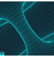 Abstract 3d Surface Looks Like Funnel vector image vector image