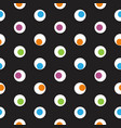 color polka dot abstract seamless pattern on a vector image vector image