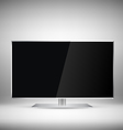 Flat Tv vector image vector image