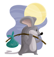 Hobo Mouse vector image vector image