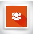 icon contacts for web and mobile applications vector image vector image