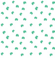 Mint leaves seamless pattern background texture vector image vector image