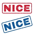 Nice Rubber Stamps vector image vector image