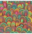 psychedelic waves pattern vector image