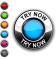 Try now button vector image vector image