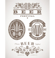 Beer emblems and labels -