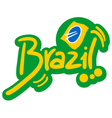 Brazil symbol vector image vector image